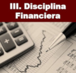 III. DisciplinaFinanciera
